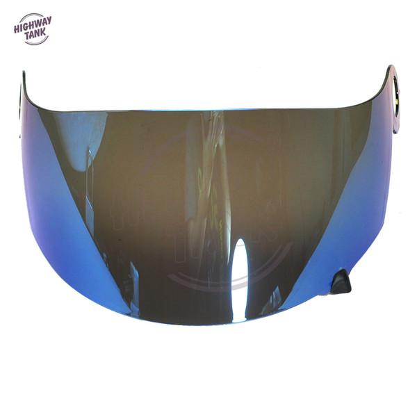 neue Blau Motorrad Helm Visier Objektiv Vollmaske für SUOMY Spec 1R Spec-1R Extreme Apex Visier Maske