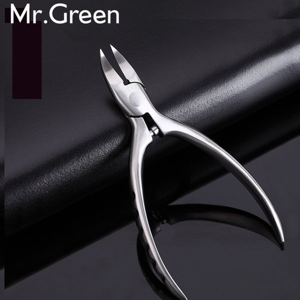 New High Quality Stainless Steel Super-sharp Nail Clipper For Cuticle Pusher Toenails Ingrown Pedicure Nail Clipper 2017