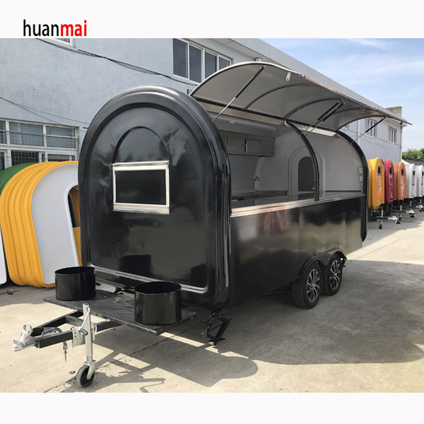 Catering Trailer Multi Function Food Trailer Mobile Food Truck Mobile Shop  Mobile Catering Trailer Burger Van Hot Dog Ice Cream Pizza Traile Parts On