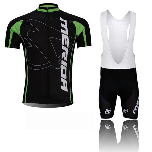 MERIDA team Cycling Short Sleeves jersey bib shorts sets Men's Summer Clothing Sportswear Outdoor Mtb Ropa Ciclismo Bike Wear T2563