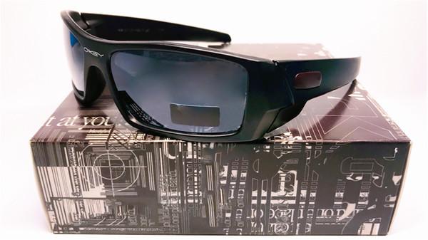 Giro sportivo Driving Fashion Beach Glasses Goas Can 12-856 OCCHIALI DA SOLE Polished / Bright Black Polarized Lens Spedizione gratuita