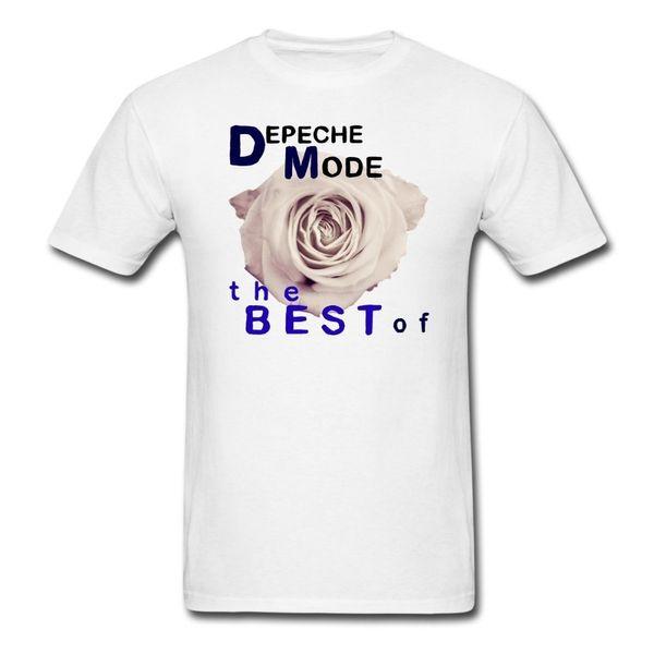 2018 T Shirt Fashion Men's Casual Crew Neck Short-Sleeve The Best Of Depeche Mode Print T Shirt Men Fitness Tee Shirts