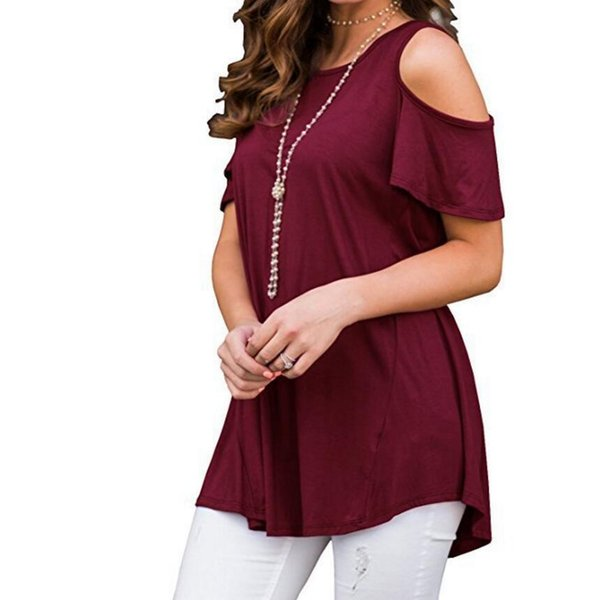 Spring Summer Casual Women T-shirts Hollow Out Short Sleeve Long Shirt Package Hip Plus Size Loose Shirt Solid Women Summer Tops