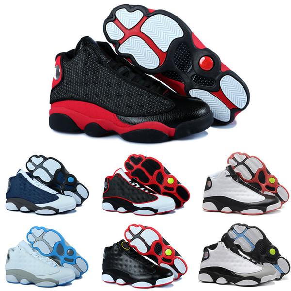 CAP AND GOWN 13s Мужчины Баскетбольные кроссовки 13 Черный Красный Белый Синий MVP Панда Чикаго Серый Toe Мужчины Женщины Спортивная обувь Кроссовки
