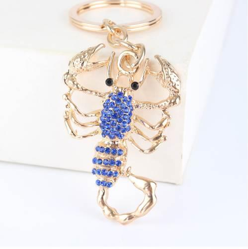 Fashion Scorpion New Cute Pendant Crystal Charm Purse Car Key Keyring Keychain Party Wedding Birthday Creative Good Gift