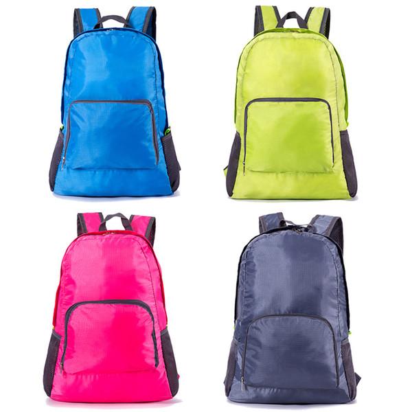 Sac à dos de voyage en plein air Portable sac pliant poids léger sac à dos étanche sac de sport sac à dos sac de rangement