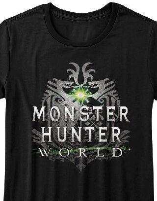Monster Hunter World Capcom Video Game Womans Fitted T Shirt