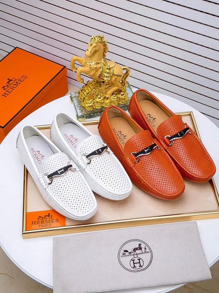 2018 Handgemachte Klassische Männer Schneeschuh Luxus Lace-up Designer Hochzeit Kleid Schuh Männliche Echtes Leder Herren Derby Schuhe Größe 38-45