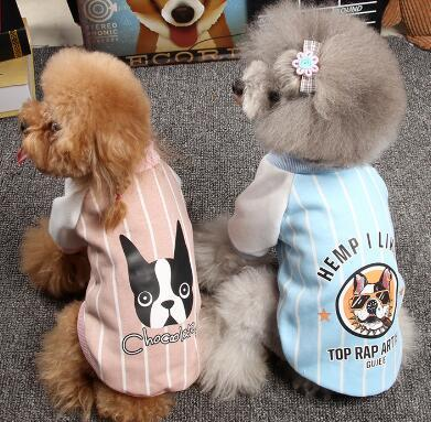 Puppy dog clothes, autumn winter clothes, Teddy little dogs, cats, PmeI, and bear.