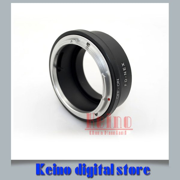 FD-NEX FD Mount Lens için Sny NEX E Montaj Kamera Gövdesi NEX-3 NEX-5 NEX-VG10 Kamera NEX Adaptör Halkası