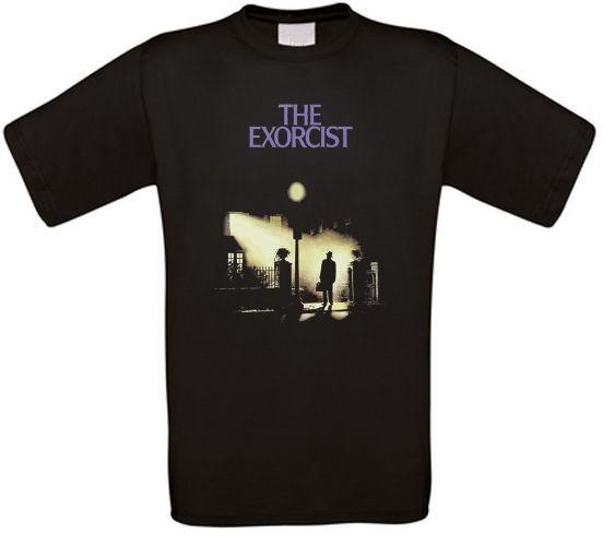 Exorcist Horror Cult Movie T-Shirt All Sizes New