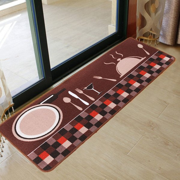 Cartoon Kitchen Rugs Mat Set Kitchen Carpet For Floor Mats Long Anti Slip Water Absorbent Runner Doormat For Entrance Door