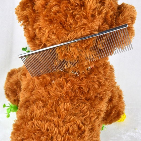 Grooming Tools for Dogs Cheap Dog Brushes Pin Brush Stainless Steel Dog Comb High Quality Pet Products S/M/L Size
