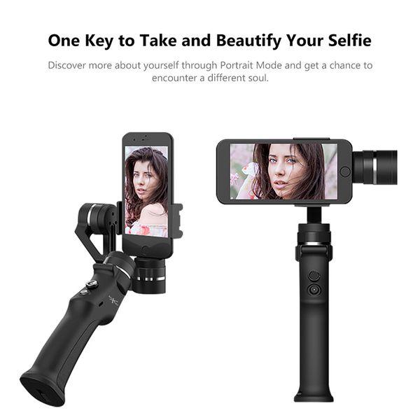 3 axes Universal Handheld Gimbal stabilisateur caméra vidéo AntiVibration 360 degrés de rotation pour Smartphone pour appareil photo d'action