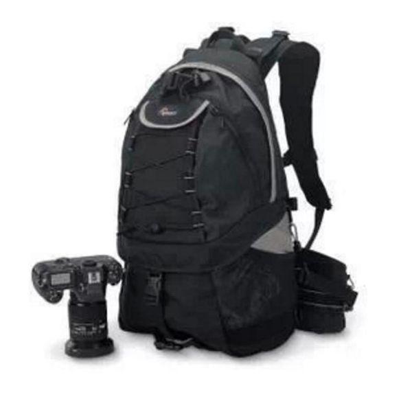 Nueva mochila de alta calidad del bolso de la cámara de DSLR de la foto de Lowepro Rover AW II del envío gratis con la cubierta para todo tipo de clima