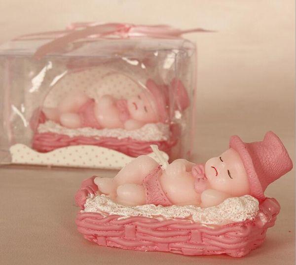 Спящий ребенок розовый