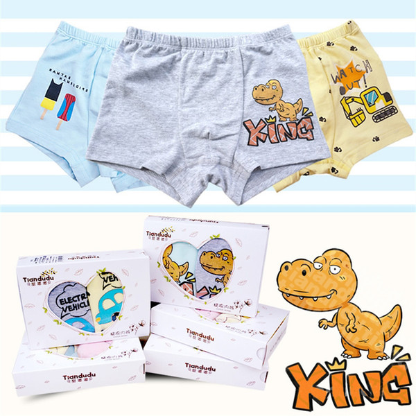 Boys Cotton Underpants 2 pieces/box 22 Designs High Quality 3-13 years old Kids Cotton Panties Boys Cartoon Boxers Briefs Pants LA611