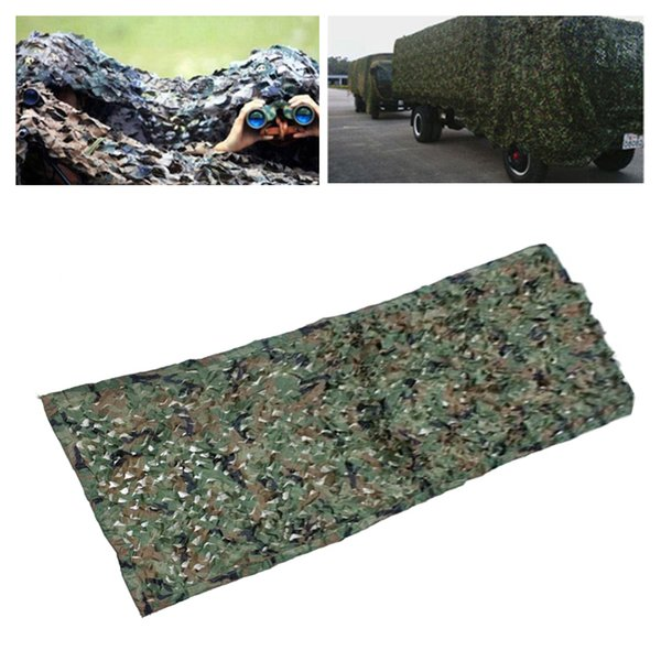 1.5*1M Camouflage Colors Outdoor Camouflage Net Army Camo Net Tent Hunting Blinds Netting Cover Conceal Drop