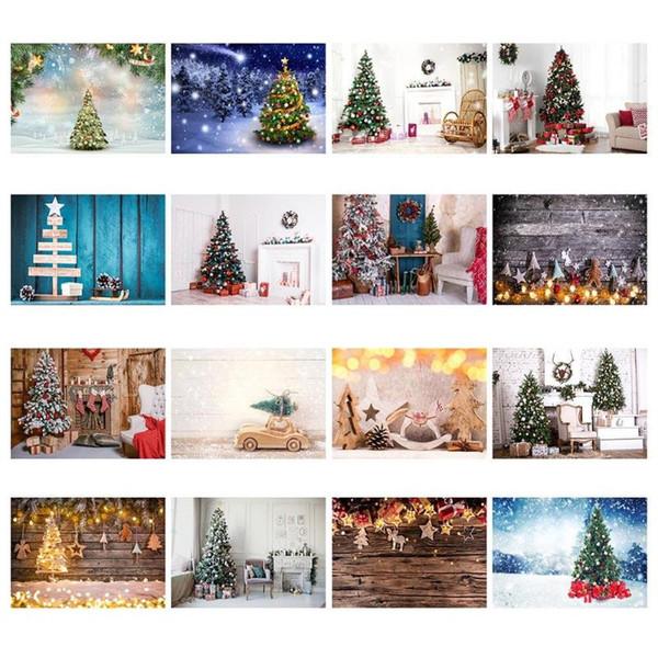 Sfondi fotografici personalizzati per studio fotografico Christmas Party Capodanno Decorazione bambini sfondo