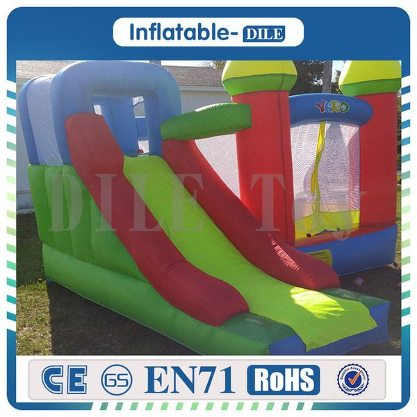 Free Shipping Door To Door Trampoline Bounce House Inflatable Toys 2018 Kid Jumper Castle Bouncer With Blower