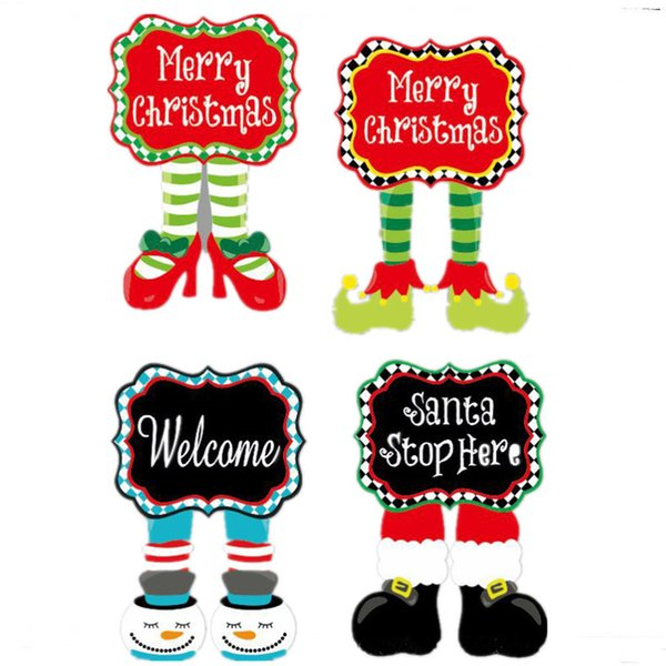 Christmas Shoes Diy.2019 42 28cm Christmas Garden Flag Diy Banner Flags Merry Chirstmas Elf Shoes Garden Flag Home Yard Flag For Festival Decoration Gifts From