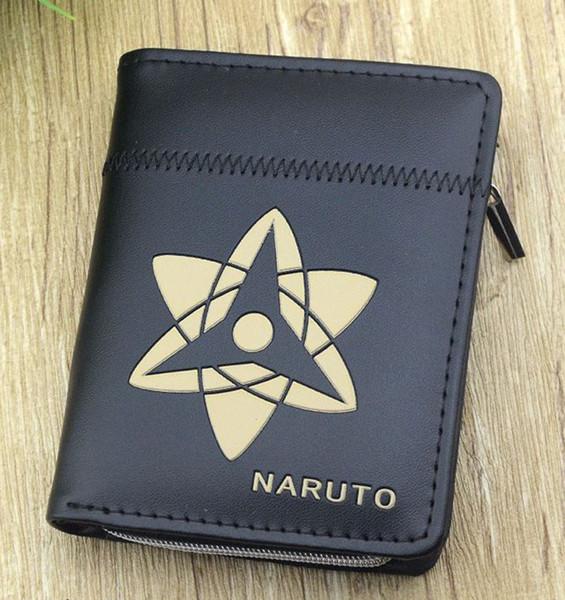 NEW Arrival : Fate/stay night Anime Game Black Wallet Saber/Arturia Pendragon Short Purse Emiya Shirou PU Purse Tohsaka Rin Money Bag