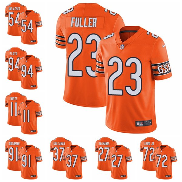 online store 783f2 5490f 2019 Chicago Limited Alternate Football Jersey Bears Orange Vapor  Untouchable 52 Khalil Mack 10 Mitchell Trubisky 54 Brian Urlacher 21 From  ...