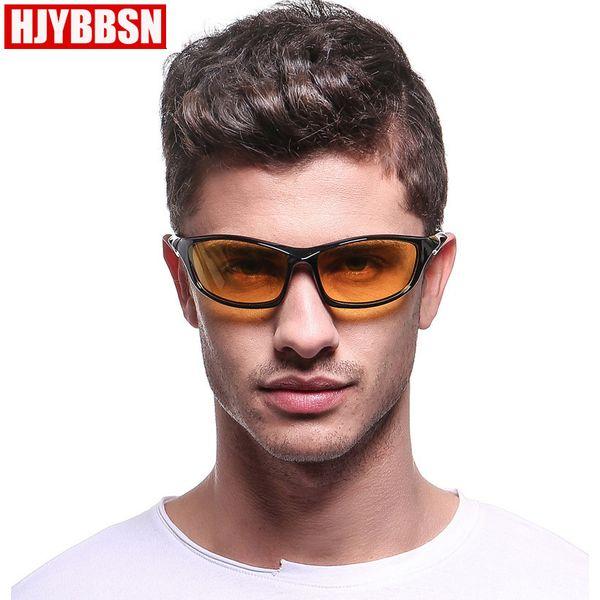Hjybbsn marca de alta qualidade óculos polarizados esportes óculos de sol  para homens pc masculino uv400 73ec01e9ea