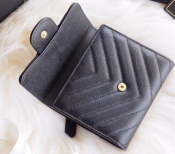 portafogli donna lusso cavier portafoglio Portafogli in pelle di alta qualità con portamonete