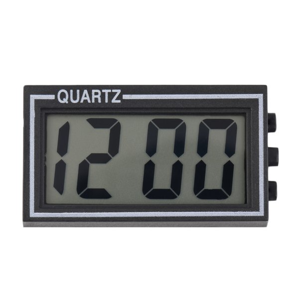 Digital LCD Table Car Dashboard Desk Date Time Calendar 2018 New Arrival Small Size Small Clock Durable For Home Use