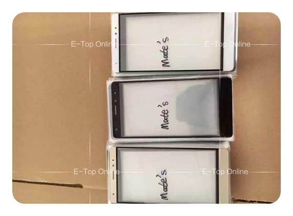 Novaphopat Black/white/Golden Mate S Glass Lens pantalla for Huawei Mate S Glass Screen (not digitizer lcd display )+ +tracking