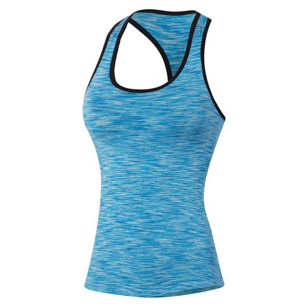 Camo das mulheres camisola estiramento correndo coletes meninas de fitness yoga esportes coletes mulheres camisas sem mangas meias de compressão sportswear