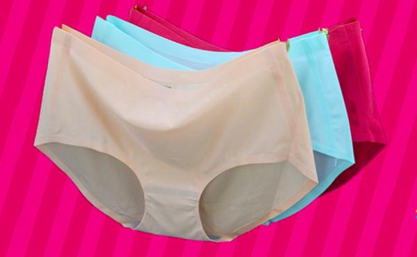 best selling New sexy one piece seamless underwear, ladies' waist, pearlescent ice silk lady's underwear, ladies' briefs, wholesale.
