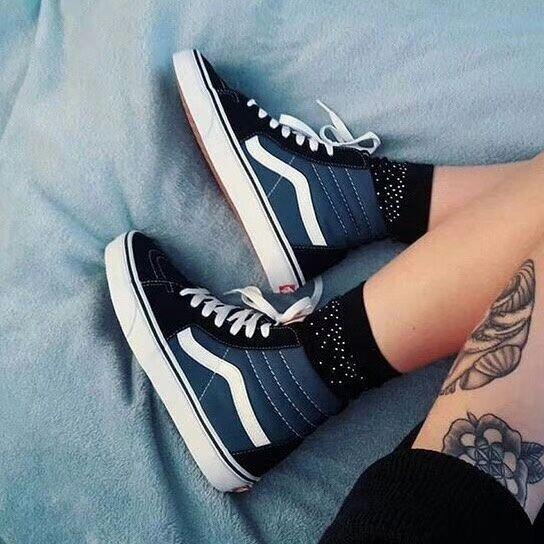 2018 new student color canvas shoes youth casual shoes Korean men and women high help canvas shoes