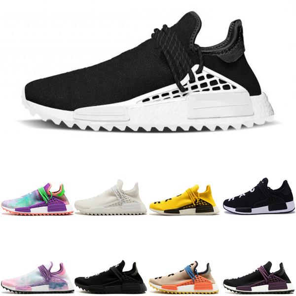 adidas Originals Human Race Hu NMD Trail Оптовая человеческая раса Hu Solar Pack Кроссовки для мужчин Чер