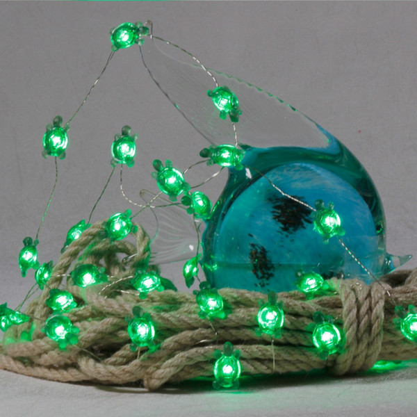 official photos 3909e ccf64 Sea Turtles Fairy LED Animals String Lights Decorations Beach Ocean Themed  10 Ft Copper Wire Dimmer Tents Aquarium Tortoise String Of Lights String ...