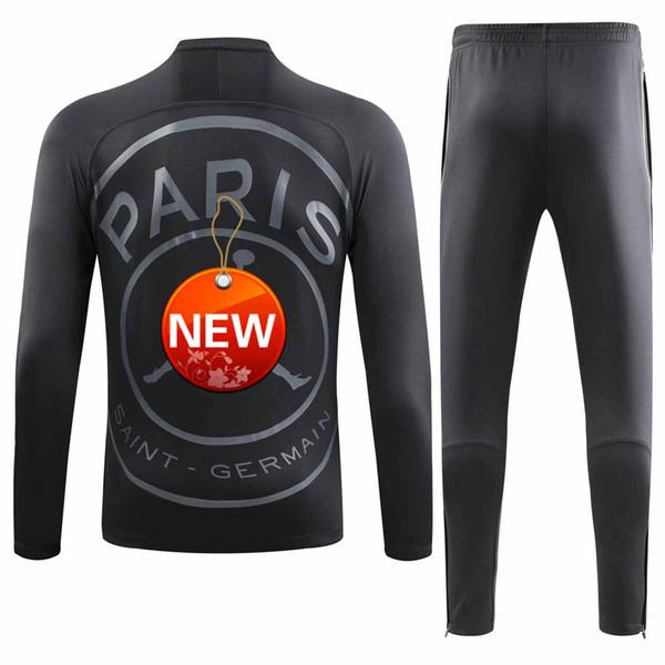 PSG Dry Squad Top Training Sweatshirt MAILLOT MIDLAYER tracksuit Paris MBAPPE JR LUCAS uniform chandal Football PRE-MATCH MANCHES LONGUES