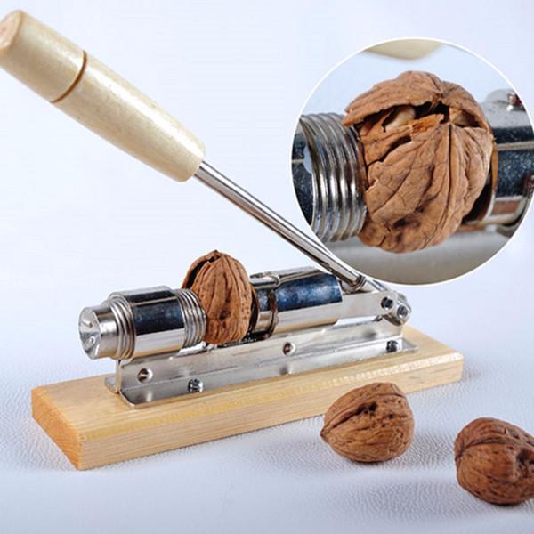 Heavy Duty Pecan Filbert Walnut Nut Hazelnut Hazel Cracker Nutcracker Clamp Plier Sheller Crack Almond Kitchen Clip Tool Machine