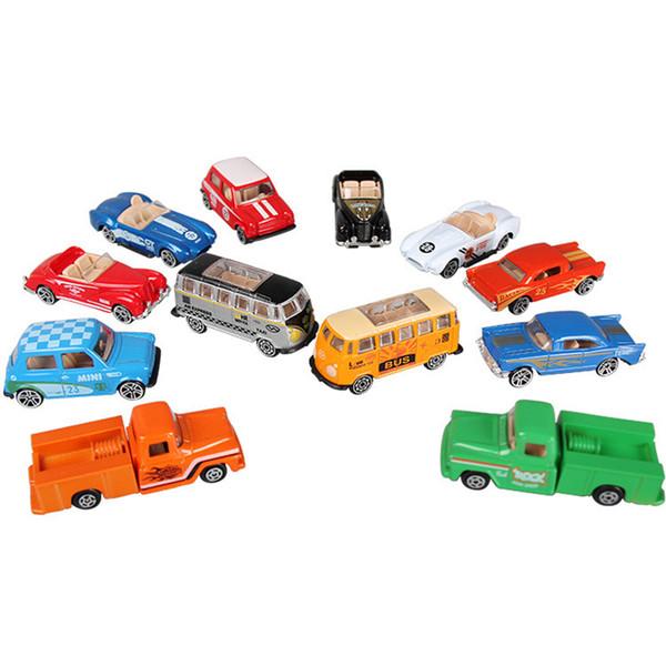 Original 1:64 Coche deportivo Hot Wheels Cars Alloy Toy Cars Colección Pull Back Car Metal Diecasts Vehículo Juguetes Para Niños Regalos