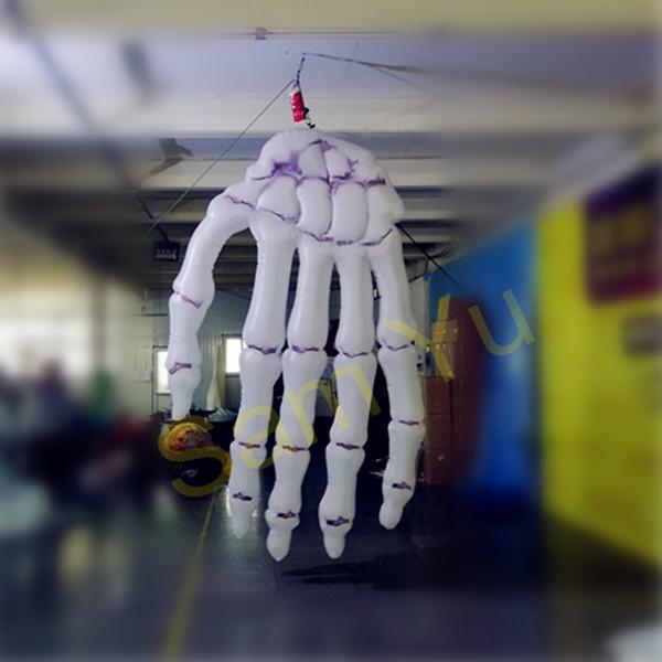 3m Outdoor Horrible Halloween Decorative Inflatable Hand for Halloween Decoration