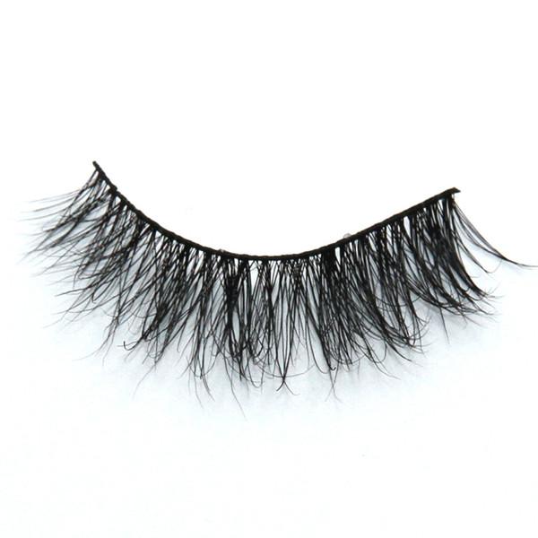 Seashine 100% Mink Hair Eyelash 3D Qualified Mink False Eyelashes Belle Eye Lash With Gift Box Free Shipping