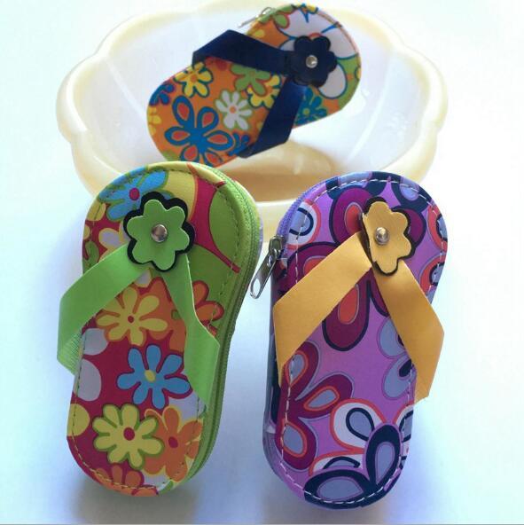 100pcs/lot Flip Flop Pedicure Manicure Set for wedding door gifts bridal favors promotional gifts wholesale