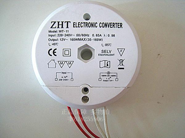 220V 160W Elektronischer Transformator ZHT Kreis Elektronische Konverter für Niederspannungs-Halogen-Lampe Kristall-Lampen-Scheinwerfer Kronleuchter