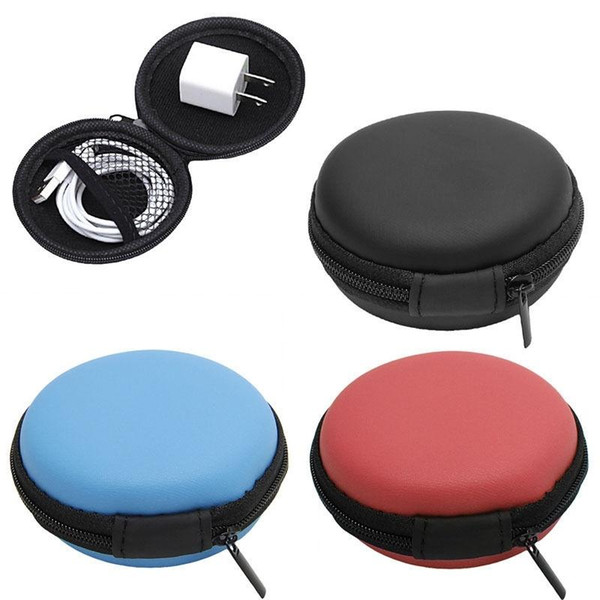 Brand new Wholesale- New 1Pc Mini Coin Purse Hard Case Bag Storage Case Box For SD TF Card Earphones Headphones Earbuds hot
