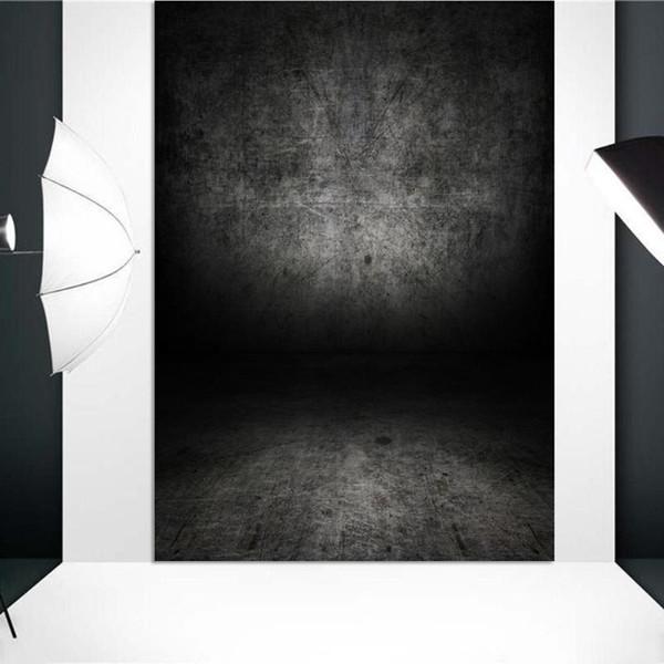 Caméra Photographie Arrière-plans Gradient Solide Noir Décors Bébé Photographie Accessoires Props Personnalisés Photographiques Backdrops Pour Photo
