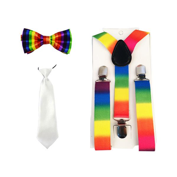 New Kids Boys Girls Children Unisex suspensorio Party Wedding Pants Y-Back Clip-on Adjustable Elastic Braces Suspenders SSN50a17