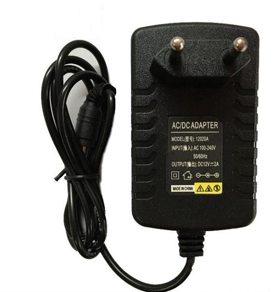 DC 12 В 2A 1A адаптер питания настенное зарядное устройство для модема беспроводной маршрутизатор светодиодные полосы света IP-камера TV Box конвертер LLFA