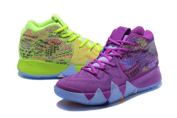 premium selection b2cfa b14d8 Nwe Kyrie IV Confetti Kids Sneakers Top Quality Irving 4 ...