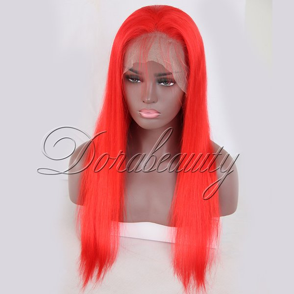Dorabeauty Straight 150% Density Red Full