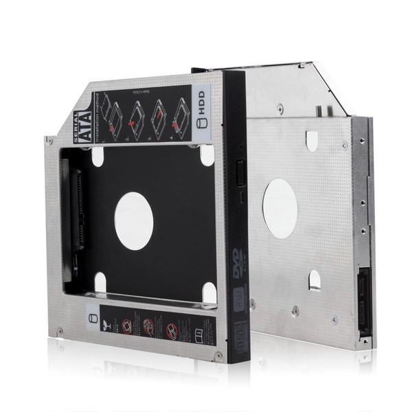 Adattatore per caddy per disco rigido per hard disk SATA HDD universale da 12,7 mm / 0,5 pollici per Lenovo Thinkpad T520 W520 CAS_900
